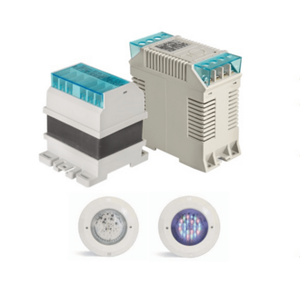 Single phase swimming-pool LED transformers IP20