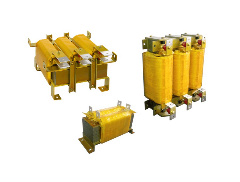 Image of Single and three phase reactors with Certification UL and CSA
